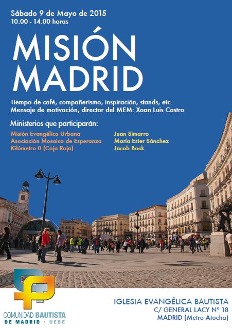 Misión Madrid 2015