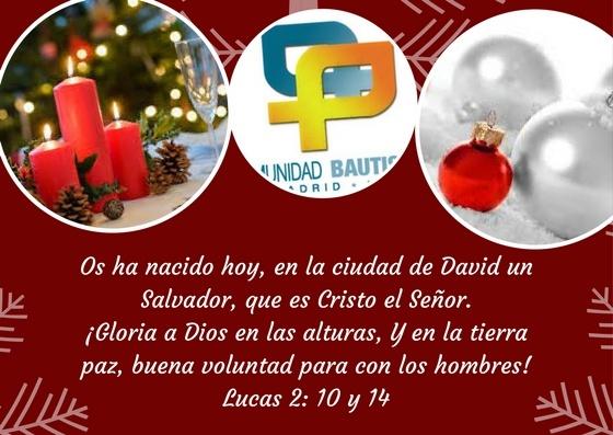 Felicitación Navidad 2017 CBM