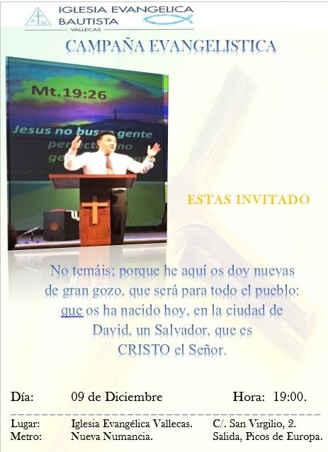 Campaña Evangelística